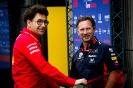 Formel 1 Hockenheim - Mattia Binotto - Ferrari - Christian Horner - Red Bull